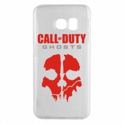 Чехол для Samsung S6 EDGE Call of Duty Ghosts - FatLine