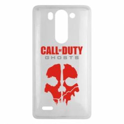 Чехол для LG G3 mini/G3s Call of Duty Ghosts - FatLine