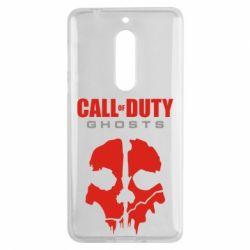 Чехол для Nokia 5 Call of Duty Ghosts - FatLine