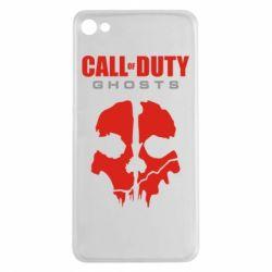 Чехол для Meizu U20 Call of Duty Ghosts - FatLine