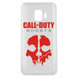 Чехол для Samsung J2 Core Call of Duty Ghosts - FatLine