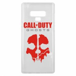 Чехол для Samsung Note 9 Call of Duty Ghosts - FatLine