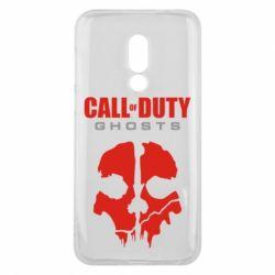 Чехол для Meizu 16 Call of Duty Ghosts - FatLine