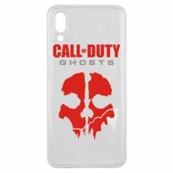 Чехол для Meizu E3 Call of Duty Ghosts - FatLine
