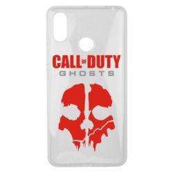 Чехол для Xiaomi Mi Max 3 Call of Duty Ghosts - FatLine