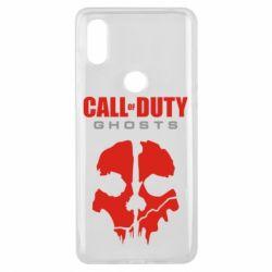 Чехол для Xiaomi Mi Mix 3 Call of Duty Ghosts - FatLine