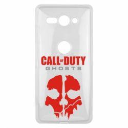 Чехол для Sony Xperia XZ2 Compact Call of Duty Ghosts - FatLine