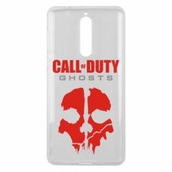 Чехол для Nokia 8 Call of Duty Ghosts - FatLine