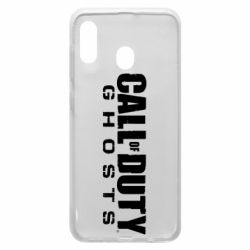 Чохол для Samsung A30 Call of duty ghosts