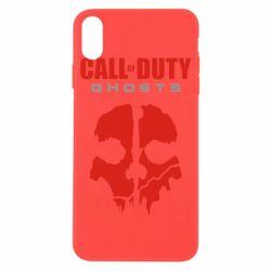 Чехол для iPhone X Call of Duty Ghosts - FatLine