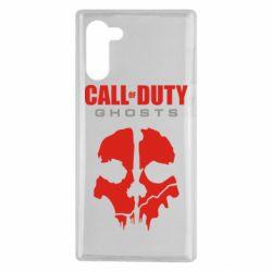 Чохол для Samsung Note 10 Call of Duty Ghosts