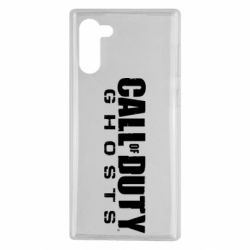 Чохол для Samsung Note 10 Call of duty ghosts