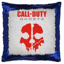 Подушка-хамелеон Call of Duty Ghosts