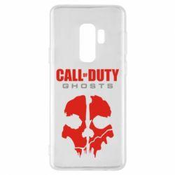 Чехол для Samsung S9+ Call of Duty Ghosts - FatLine