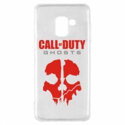 Чехол для Samsung A8 2018 Call of Duty Ghosts - FatLine