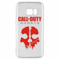 Чехол для Samsung S7 Call of Duty Ghosts - FatLine