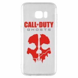 Чехол для Samsung S7 EDGE Call of Duty Ghosts - FatLine