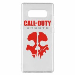 Чехол для Samsung Note 8 Call of Duty Ghosts - FatLine