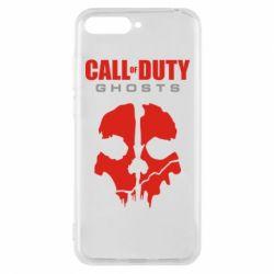 Чехол для Huawei Y6 2018 Call of Duty Ghosts - FatLine