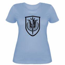 Жіноча футболка Call of Duty logo with shield