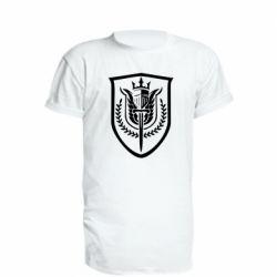 Подовжена футболка Call of Duty logo with shield