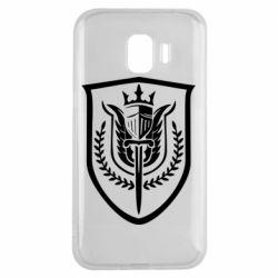 Чохол для Samsung J2 2018 Call of Duty logo with shield