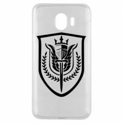 Чохол для Samsung J4 Call of Duty logo with shield