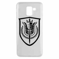 Чохол для Samsung J6 Call of Duty logo with shield
