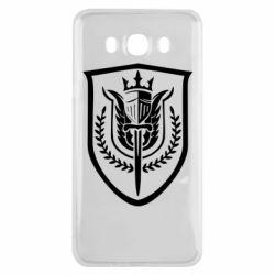 Чохол для Samsung J7 2016 Call of Duty logo with shield