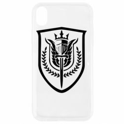Чохол для iPhone XR Call of Duty logo with shield