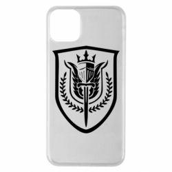 Чохол для iPhone 11 Pro Max Call of Duty logo with shield