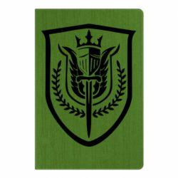 Блокнот А5 Call of Duty logo with shield