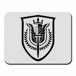 Килимок для миші Call of Duty logo with shield