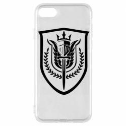 Чохол для iPhone 7 Call of Duty logo with shield