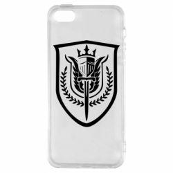 Чохол для iPhone 5 Call of Duty logo with shield