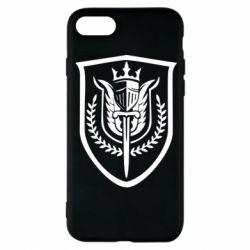 Чохол для iPhone 8 Call of Duty logo with shield