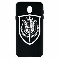 Чохол для Samsung J7 2017 Call of Duty logo with shield