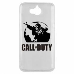 Чехол для Huawei Y5 2017 Call of Duty Logo - FatLine