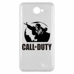 Чехол для Huawei Y7 2017 Call of Duty Logo - FatLine