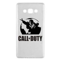 Чохол для Samsung A7 2015 Call of Duty логотип