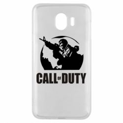 Чохол для Samsung J4 Call of Duty логотип