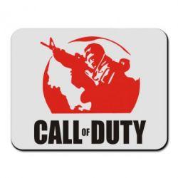 Коврик для мыши Call of Duty Logo - FatLine