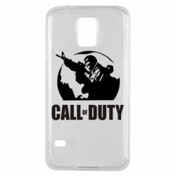 Чохол для Samsung S5 Call of Duty логотип