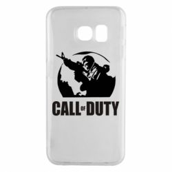 Чохол для Samsung S6 EDGE Call of Duty логотип