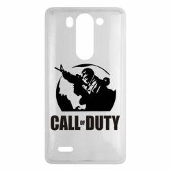 Чехол для LG G3 mini/G3s Call of Duty Logo - FatLine