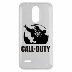 Чехол для LG K7 2017 Call of Duty Logo - FatLine