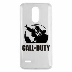Чехол для LG K8 2017 Call of Duty Logo - FatLine