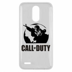 Чехол для LG K10 2017 Call of Duty Logo - FatLine