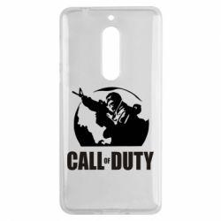 Чехол для Nokia 5 Call of Duty Logo - FatLine