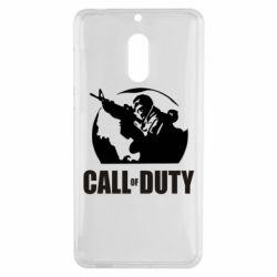 Чехол для Nokia 6 Call of Duty Logo - FatLine